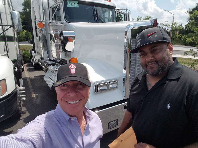 New Kenworth Truck for Pinnacle Driver