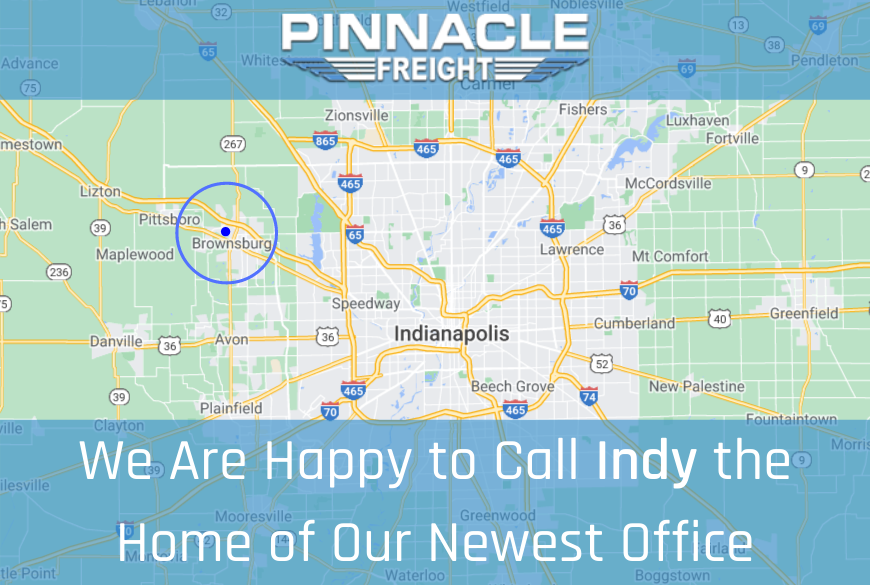 New Office Location: Indianapolis