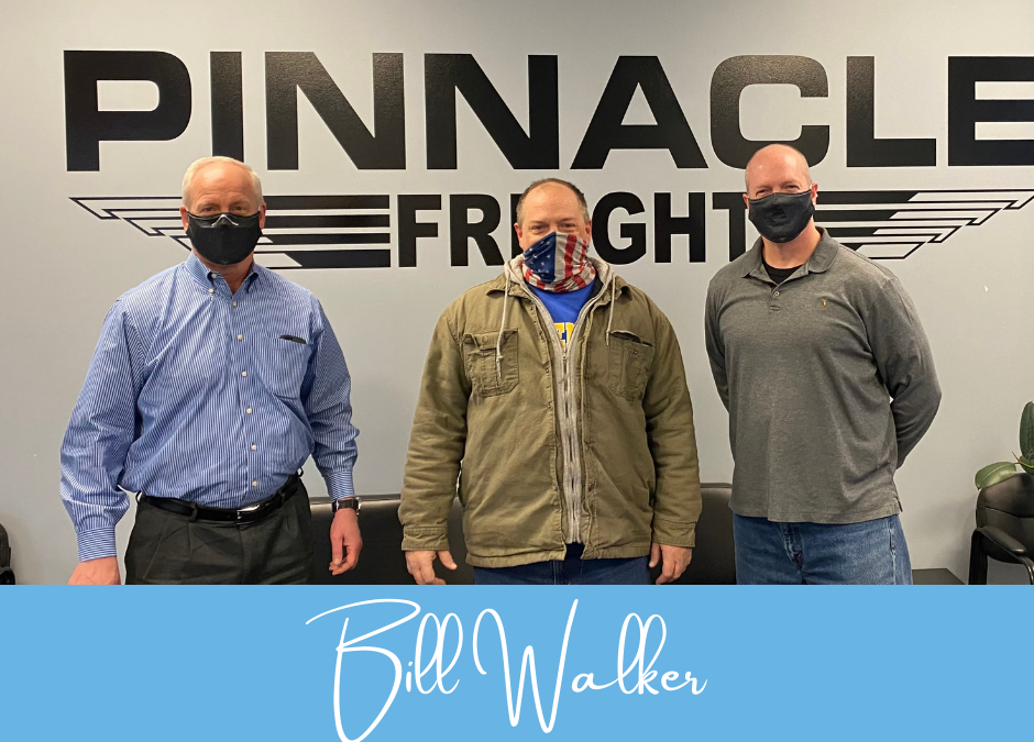 Pinnacle Freight's Driver of the Year: Bill Walker